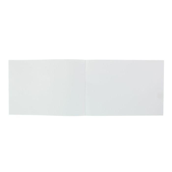 """Альбом для рисования А4, 20 листов на скрепке """"Хобби тайм"""", обложка картон 235 г/м2, блок офсет 100г/м2, 2 вида МИКС"""