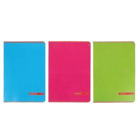 Тетрадь А4, 48 листов в клетку «Классика», обложка мелованный картон, УФ-лак, МИКС