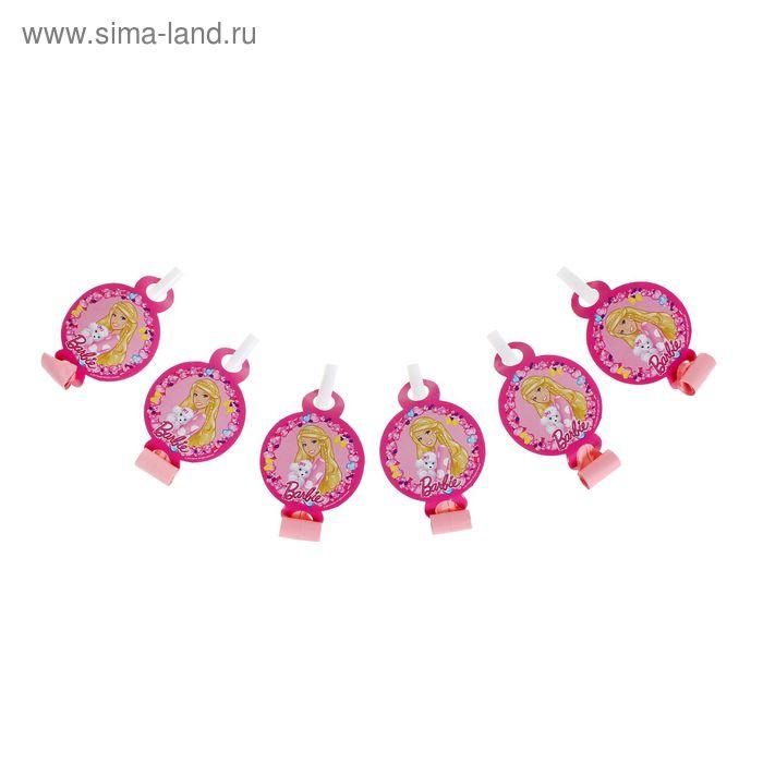 """Набор язычков """"Барби"""" ( набор 6 шт) 30301"""