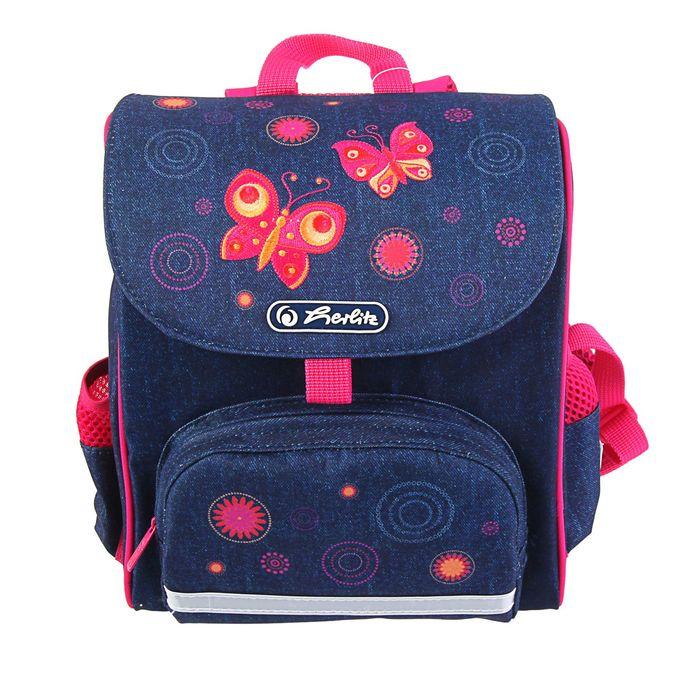 Ранец дошкольный Herlitz MINI Softbag, 28х24х14 см, Butterfly