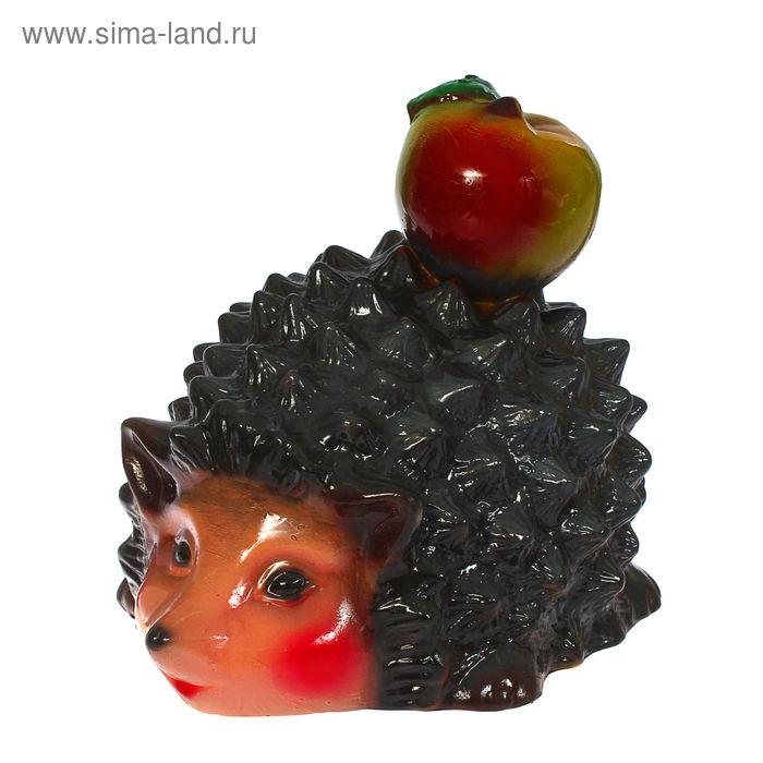 """Садовая фигура """"Ёжик с яблоком"""""""