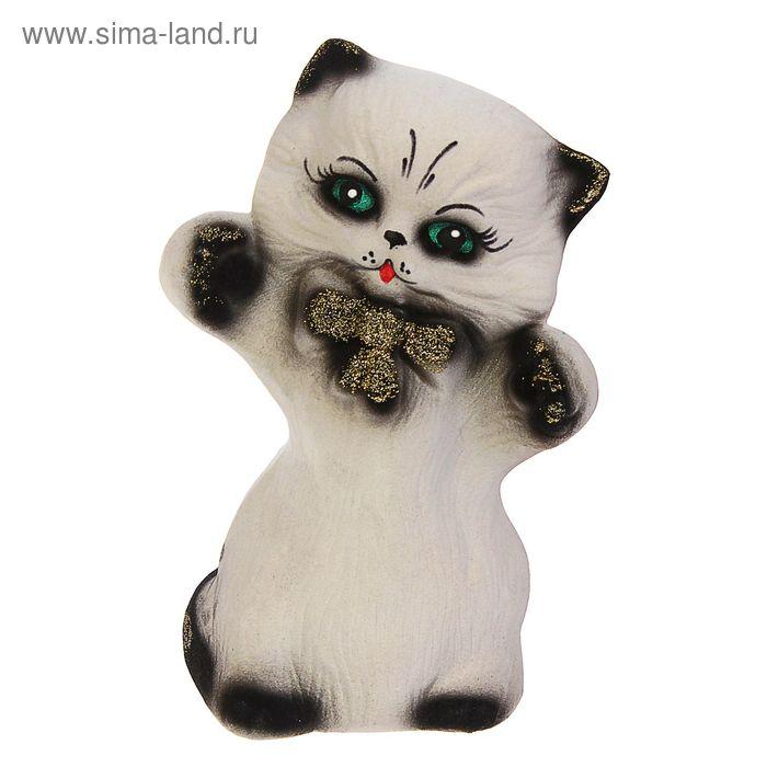 """Копилка """"Радостный котик"""" художественная роспись, микс"""