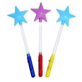Световая палочка «Звезда», цвет зелёный