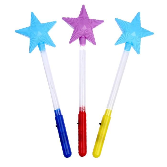 """Световая палочка """"Звезда"""", цвет зелёный"""