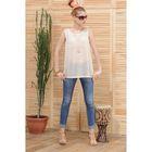 Блуза, размер 50, рост 164 см, цвет молочный (арт. 4809а С+)