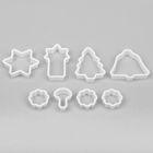 """Набор форм для печенья """"Сказка"""", 8 предметов - фото 308034389"""