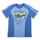 Футболка для мальчика, рост 110-116 см (60), цвет васильковый/голубой (арт. Д 08243)