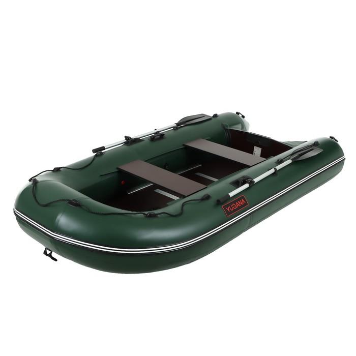 Лодка «Муссон» 3200 СК слань+киль, цвет олива
