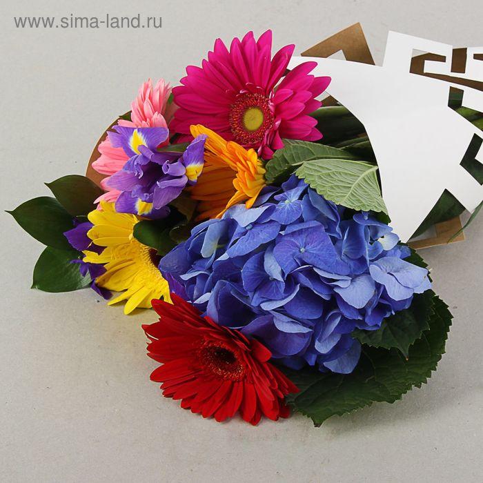 """Пакет для цветов с вырубкой """"Галерея"""", кувшин 37 х 18 см"""