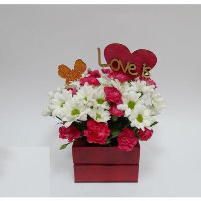 "Топпер ""Love is"", 15 см"