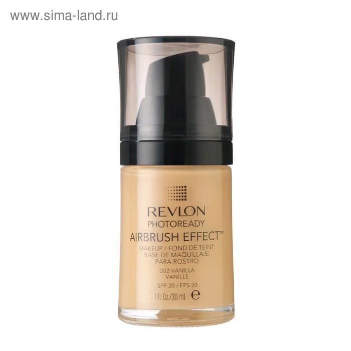Тональный крем Revlon, Photoready airbrush effect makeup, тон Vanilla 002