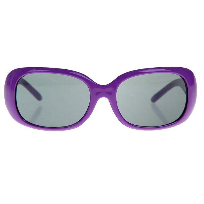 Очки солнцезащитные детские, оправа МИКС, дужки широкие, линзы чёрные, 13 × 4.5 × 3.5 см