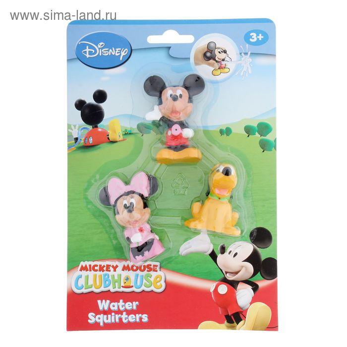 """Игрушки для ванной """"Микки Маус"""", набор 3 фигурки"""