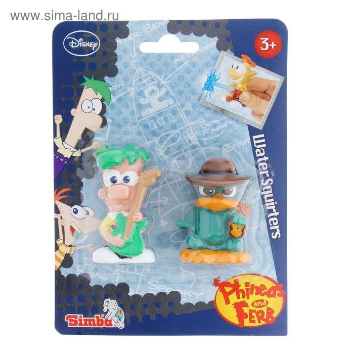 """Набор игрушек для ванной """"Финис и Ферб"""", 2 фигурки"""