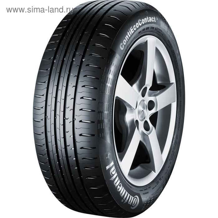 Летняя шина Continental ContiEcoContact 5 175/65 R15 84T