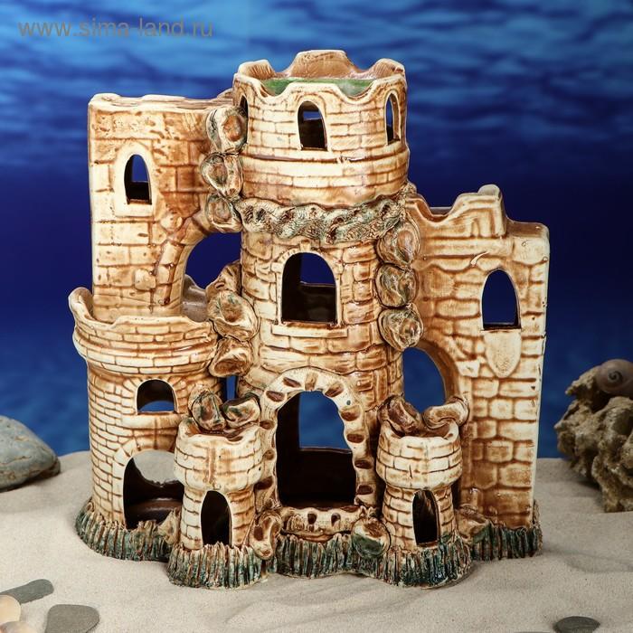 """Декорации для аквариума """"Четыре башни"""""""
