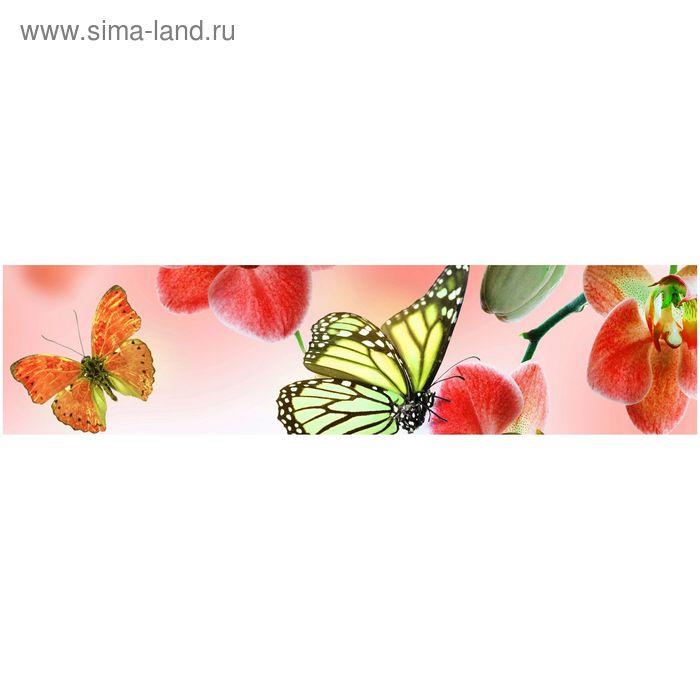 Фартук ХДФ Бабочка 1 610х2440х3 мм