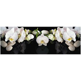 Фартук ХДФ Белая орхидея 695х2070х3 мм