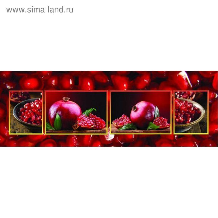 Фартук ХДФ Гранатовый МИКС 695х2070х3 мм