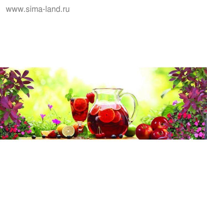 Фартук ХДФ Летний сад 695х2070х3 мм