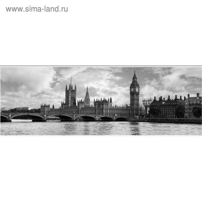 Фартук ХДФ Лондон монохром 695х2070х3 мм