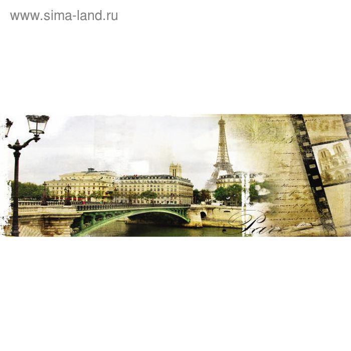 Фартук ХДФ Париж ретро 695х2070х3 мм