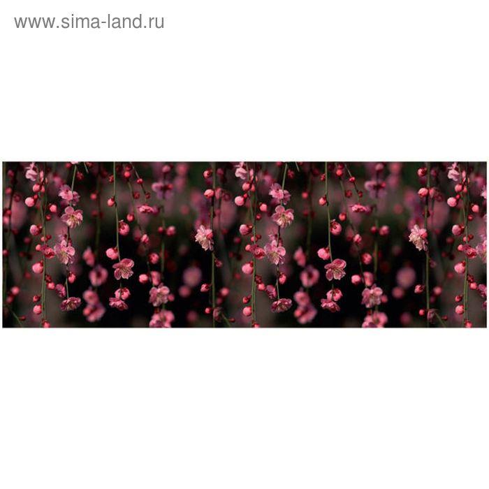 Фартук ХДФ Цветущий сад 695х2070х3 мм