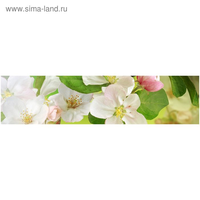 Фартук ХДФ Яблоневый цвет 610х2440х3 мм