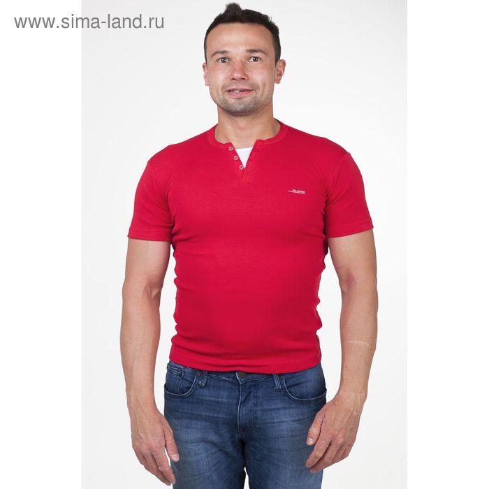 Футболка мужская арт.5078, цвет красный, р-р M