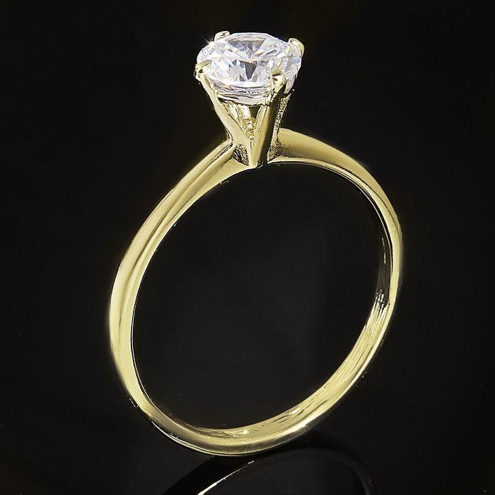 """Кольцо """"Катри"""", размер 21, цвет белый в золоте"""