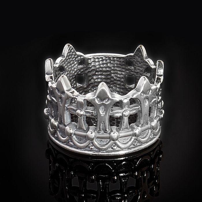 "Кольцо ""Габсбург"", размер 17, черненое серебро"