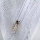 Мешок для стирки бюстгальтеров, 28×4 см, цвет белый - фото 4636605