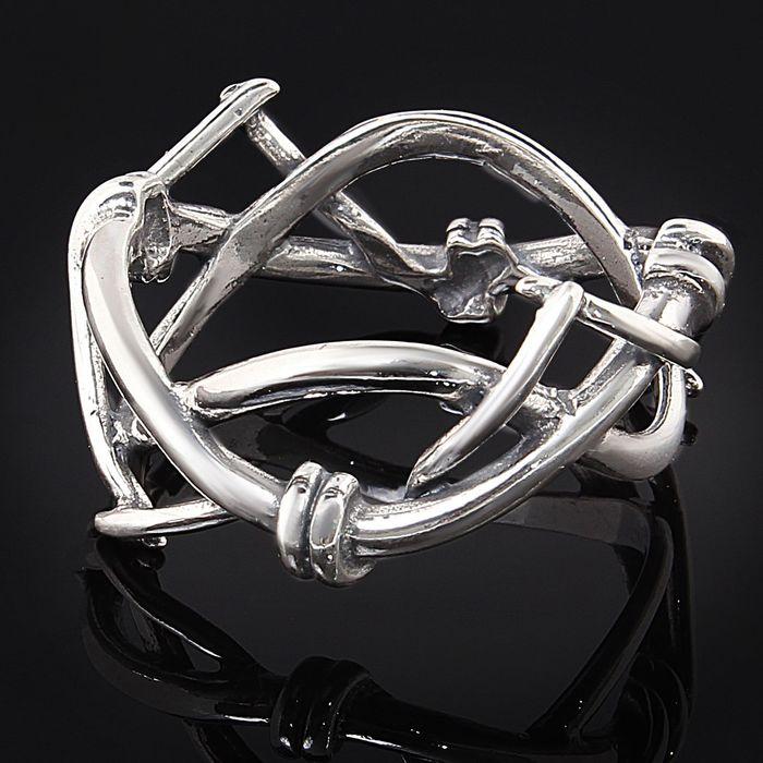"Кольцо ""Байкер"", размер 19, цвет чернёное серебро"