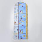 Чехол для гладильной доски, с креплением на резинке, 119х37 см, МИКС