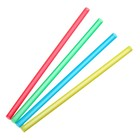 Набор трубочек для алкококтейлей 5х125 мм Mini, цветные, 100 шт в упаковке