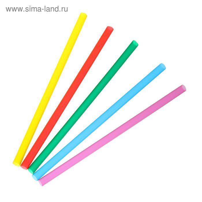 Набор трубочек для алкококтейлей 5х125 мм Mini, цветные, 400 шт в упаковке