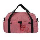 Сумка спортивная на молнии, 1 отдел, 1 наружный карман, розовая