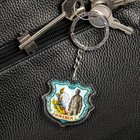 "Keychain in the shape of a coat of arms ""Izhevsk"""