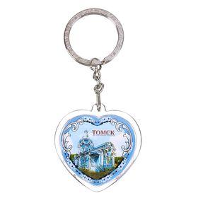 Брелок в форме сердца «Томск» в Донецке