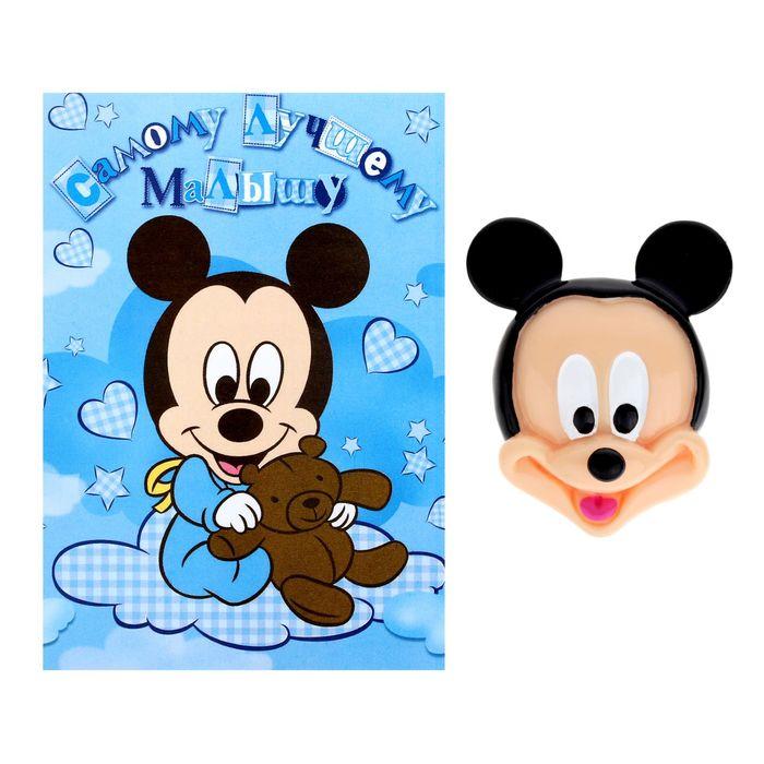 """Открытка с магнитом """"Микки беби"""", Микки Маус, Дисней беби"""