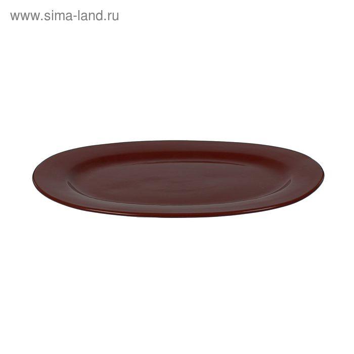 """Блюдо 3712/1-12, 10с37/1 """"Шоколад"""""""