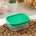Контейнер пищевой 150 мл, цвет зелёный