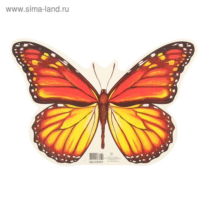 """Мини-плакат вырубной """"Бабочка-Шоколадница"""""""