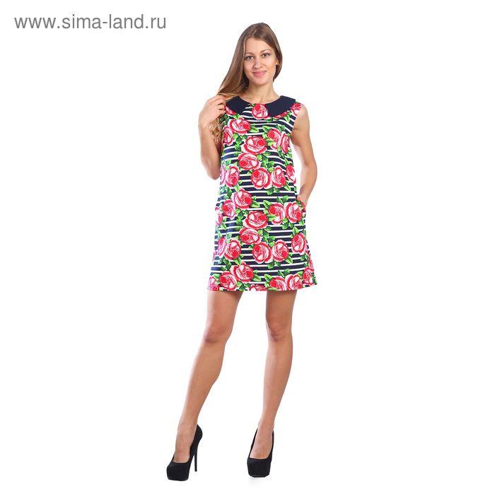 Платье женское, цвет МИКС, размер 50 (арт. 208ХР1726)