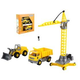 Набор строительной техники «Агат»