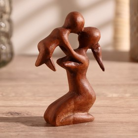 "Souvenir wood ""Happiness in hands"" 10х6х2 cm"