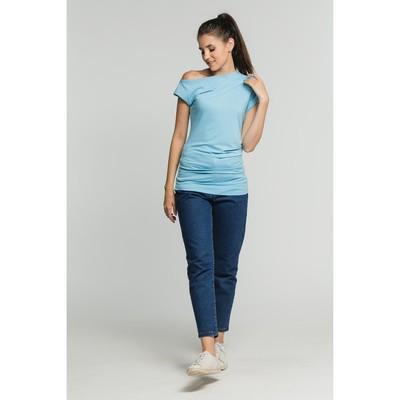Джемпер женский, цвет голубой, размер 44 (арт. М-523-10)
