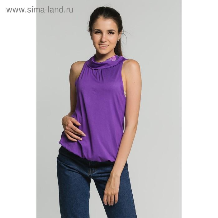 Блуза женская, цвет сирень, размер 42 (арт. М-374-10)