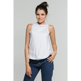 Блуза женская, цвет белый, размер 42 (арт. М-374-10)