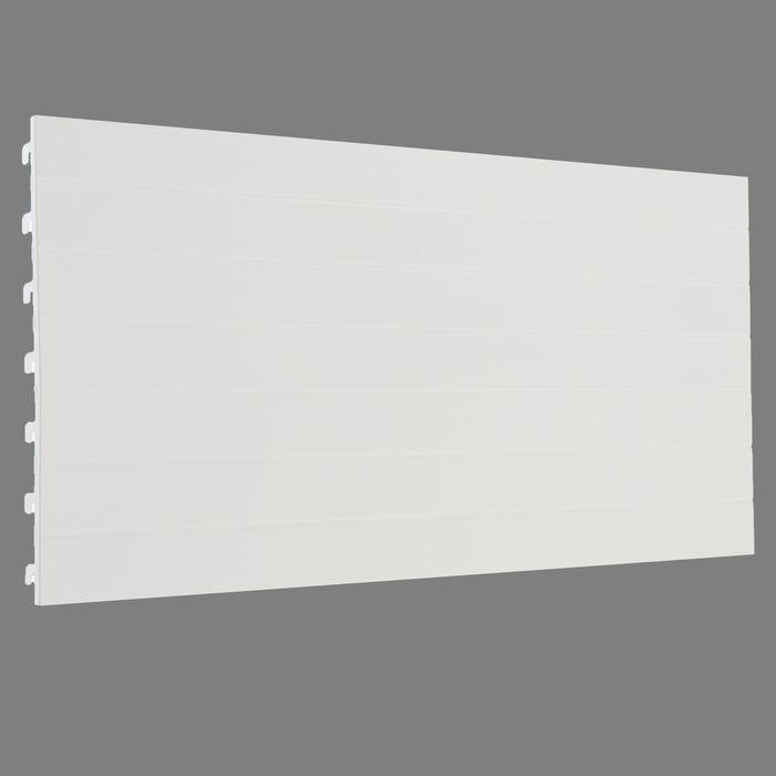 Стенка для стеллажа, евро, серия 25, 35*100см, цвет белый